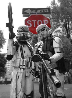 Star Wars Stormtroopers on watch ... °°