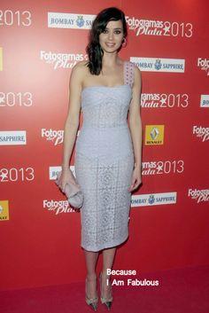 Fabulously Spotted: Dafne Fernández Wearing Burberry Prorsum - Fotogramas de Plata 2013 - http://www.becauseiamfabulous.com/2014/02/dafne-fernandez-wearing-burberry-prorsum-fotogramas-de-plata-2013/