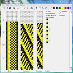 Узоры для вязаных жгутиков-шнуриков 2   biser.info - всё о бисере и бисерном творчестве