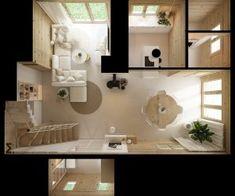 Drewniany minimalistyczny dom   Proj: Elementy   IH - Internity Home Bathroom Lighting, Mirror, House, Furniture, Home Decor, Bathroom Light Fittings, Bathroom Vanity Lighting, Decoration Home, Home