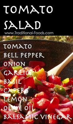 Tomato Salad @ Traditional-Foods.com