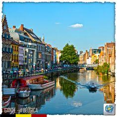 #Gante, la cuarta ciudad más importante de #Bélgica. La ciudad de #Gante cuenta con una zona peatonal en el centro de la misma donde se puede admirar la hermosa arquitectura flamenca de principios del medievo. Hay auténticos monumentos góticos, como la Catedral de San Bavo o el Castillo de los condes, por nombrar algunos. Si se quiere admirar la obra de importantes artistas flamencos, lo mejor es darse una vuelta por el Museum voor Schone Kunst.  Compra online en http://pe.costamar.com/