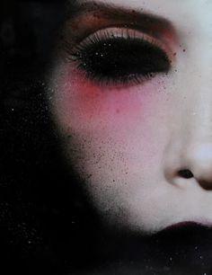dark doll.