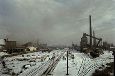 Harry Gruyaert, Sito industriale Boom, Belgio 1988