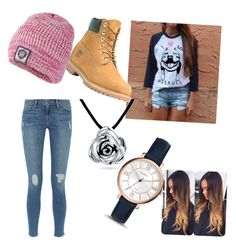 """""""Love a bull"""" by spirit2020 on Polyvore featuring Frame Denim, Timberland, Superdry, Bling Jewelry and FOSSIL"""