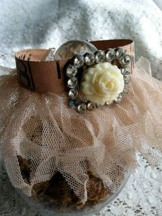 A Tutu for Your Wrist  Vintage Measuring Tape by DuctTapeAndDenim, $22.00
