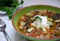 Mexican Quinoa Minestrone