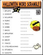 Halloween Word Scramble: #Pumpkin | Mrs fishers 2nd grade ...