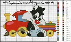 Sylvester x-stitch