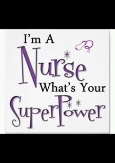 am a nurse