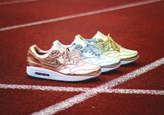 http://SneakersCartel.com NikeiD Air Max 1 'Olympic Medal' Collection | #sneakers #shoes #kicks #jordan #lebron #nba #nike #adidas #reebok #airjordan #sneakerhead #fashion #sneakerscartel