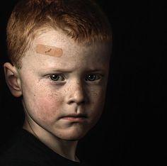 Perfect little boy portrait