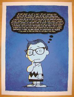 """2013 """"Woody Allen"""" - Silkscreen Art Print by Todd Slater"""