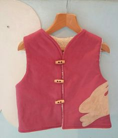 A bunny waistcoat is perfect for easter bunnies