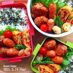 フォロワー1万人!@kaoringo___さんのつくるお弁当&常備菜が素敵すぎ! - LOCARI(ロカリ) Bento Kids, Bento Box Lunch, Lunch Snacks, Japanese Lunch Box, Japanese Food, Bento And Co, Food Pack, Bento Recipes, Lunch To Go