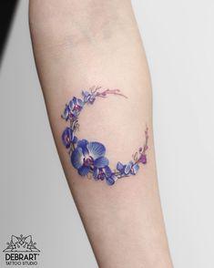 orchid moon tattoo © Deborach Genchi orchid moon tattoo © Deborach Genchi The post orchid moon tattoo © Deborach Genchi appeared first on Ruby Sanders. S Tattoo, Tattoo Pink, Orchid Tattoo, Ankle Tattoo, Tattoo Girls, Tattoo Lyrics, Butterfly Tattoos, Tattoo Moon, Pretty Tattoos