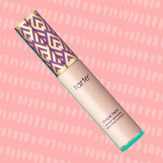 The first thing you'll notice about Tarte's new concealer is just how jumbo size it is! It has one of the largest wands I've seen and I kind of love that about it. It covers surface area in the under-eye region in no time. For $24 you get a very generous amount of creamy concealer to hide blemishes and dark circles, or use it to cream contour and highlight!