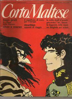 Corto Maltese, il primo esempio di romanzo a fumetti in Italia, creati da  #HugoPratt