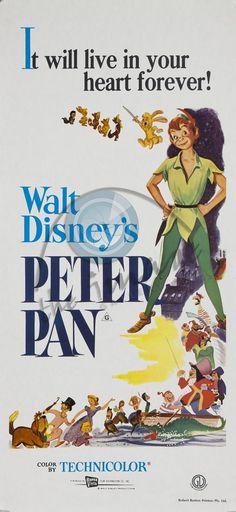 Peter Pan vintage Disney poster