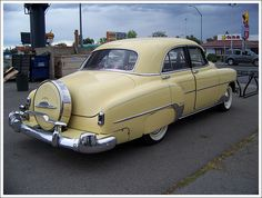 1952 Chevy Deluxe with continental kit