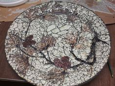 Very nice work - Mosaic by Barbara Smith (Her latest crash glass project completed 2-2013)