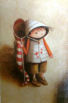 Valeria Docampo - lovely illustrator soon to be in Storytime. Watch out for issue 4 Children's Book Illustration, Graphic Design Illustration, Illustration Children, Naive Art, Whimsical Art, Art Pictures, Cute Art, Childrens Books, Painting