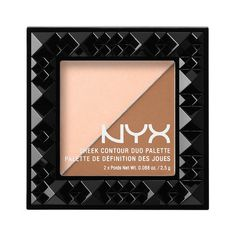 More Contour Newness from NYX!: Cheek Contour Duo Palette: Create natural-looking contours, sun-kissed cheeks and a gorgeous, lit-from-within glow with our new Cheek Contour Duos. Available in six silky shade combinations, each luxurious compact makes it easy to perfect your complexion on the go. SO easy, and perfect for beginners, or just when you are on the go, comes in a bunch of shades!  Only $9!