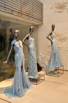 Soda show room Bridal Boutique Interior, Boutique Decor, Boutique Interior Design, Clothing Boutique Interior, Fashion Window Display, Basil Soda, Fashion Showroom, Clothing Displays, Bridal Stores