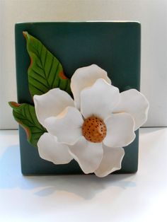 Magnolia created with Sculpey Clay