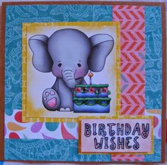 Send A Smile 4 Kids Challenge Blog- TEAM S.A.S. Card by Hilde