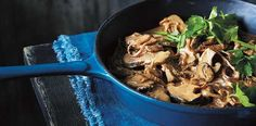 "From her latest cookbook ""Simple Every Day"", Justine Schofield shares her delicious recipe for stroganoff-style lamb."
