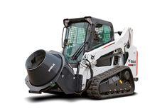 construction concrete mixers   New concrete mixer attachment for Bobcats