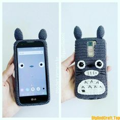 And Knitting Baby Models iPhone x - DİY Creative Cooking Crochet Phone Cover, Crochet Case, Crochet Gifts, Crochet Bunny Pattern, Crochet Patterns Amigurumi, Crochet Mobile, Kawaii Crochet, Crochet Octopus, Wallet Pattern