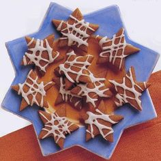 Molasses and Ginger Stars