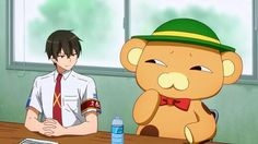 I laughed so hard at this part anime: Amagi Brilliant Park