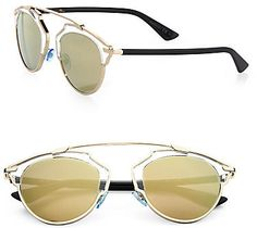Dior So Real 48MM Pantos Sunglasses