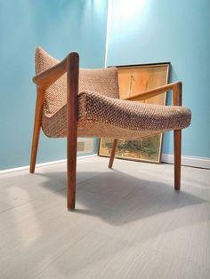 Vintage Mid Century Modern Danish Style Lounge Chair Conant Ball Leslie Diamond in Mid-Century Modernism | eBay $299.99