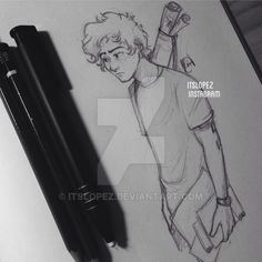 I'm too lazy to scan it omg I'll color it eventually though GOTTA LOVE HARRY STYLES THOUGH