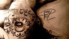 My Arts, Skull, Tattoos, Tatuajes, Tattoo, Japanese Tattoos, A Tattoo, Sugar Skull, Tattoo Designs