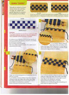 evia telar 2 2006 - Daina Veide - Álbuns da web do Picasa Inkle Loom, Loom Weaving, Tapestry Weaving, Tablet Weaving, Hand Weaving, Loom Craft, Weaving Projects, Sewing Art, Weaving Patterns