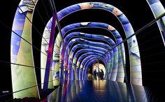 Art Gallery inside #Swarovski Crystal Vattens, close to #Innsbruck #Austria
