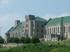 """Kentucky State Penitentiary. This is a maximum security prison still in use. It's been called the """"Castle on the Cumberland"""" due to its incredible design. 