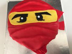 Red Ninjago Birthday cake