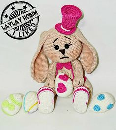 Ravelry: Easter bunny pattern by laylay hobim