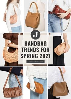 Spring is just around the corner, so today we're talking about the top handbag trends for spring 2021 and the best bags of the season.