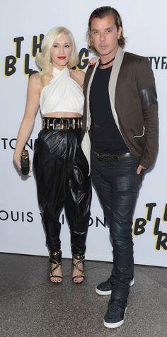 Gwen Stefani / Gavin Rossdale / Balmain