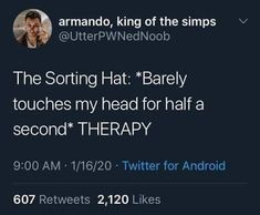 Laine's World: Mental Health Chronicles - Therapy Updates Stupid Funny Memes, Funny Relatable Memes, Haha Funny, Hilarious, Funny Stuff, Random Stuff, Youre My Person, Fandoms, Harry Potter Memes