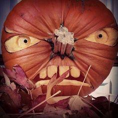 One Angry Pumpkin