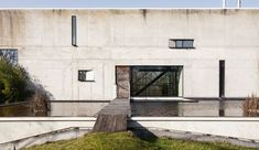 Brutalist beauty can be yours for $1.7M - Curbedclockmenumore-arrownoyes : Villa C is located in Beersel, Belgium