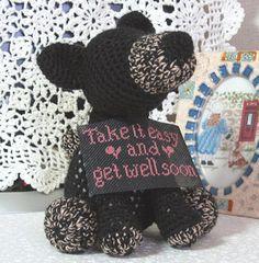 編みぐるみ メッセージを届ける犬